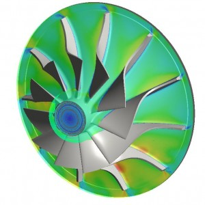 CFD Analysis for Compressor Wheel Flow