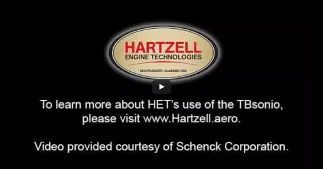 Hartzell Engine Technologies Schenck TBsonio Turbocharger Balancer