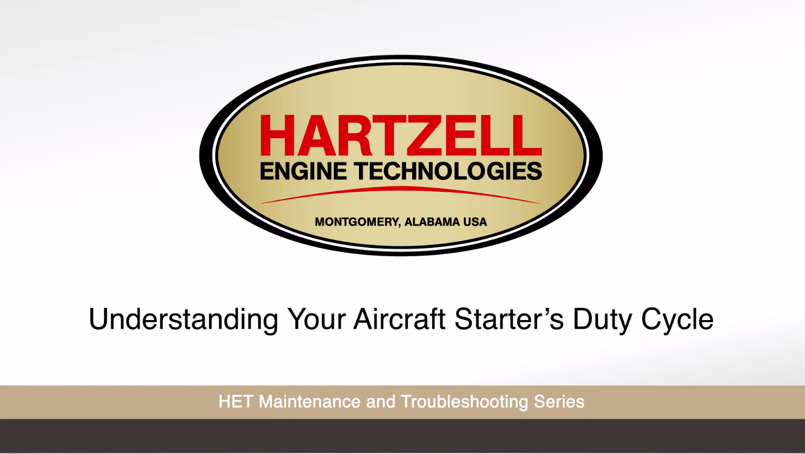 Hartzell Engine Technologies Introduces Educational Video Series to Help Pilots and Mechanics Better Understand the Operation of Key Aircraft Components