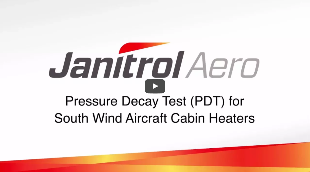 Watch Pressure Decay Test (PDT) for South Wind Aircraft Cabin Heaters