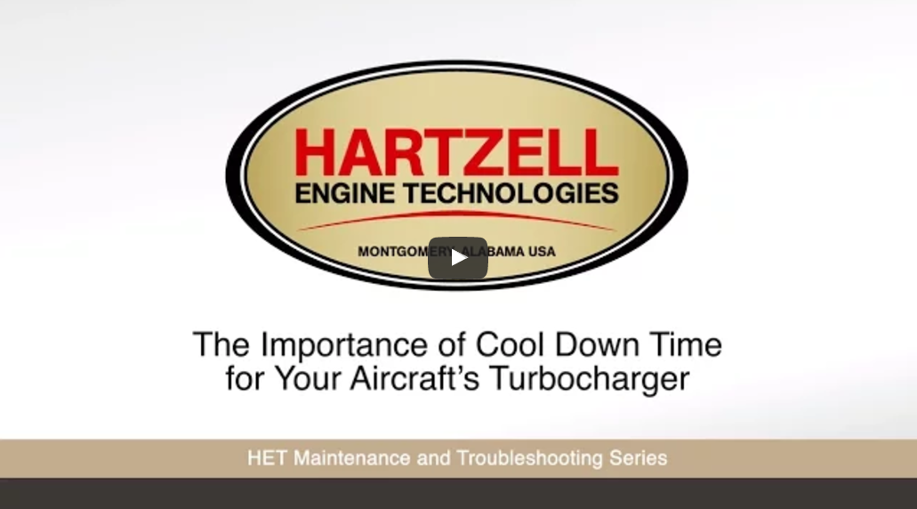 The Importance of Cool Down Time for Your Aircraft's Turbocharger