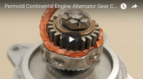 Permold Continental Engine Alternator Gear Coupling Installation